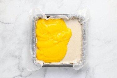 Заморозьте слой манго