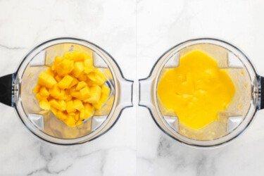 Пюре с манго